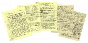 Bill Glazer Handwritten Letter