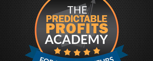 Speed to Scale (aka The Predictable Profits Academy)